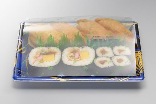 お寿司の上掛けフィルム