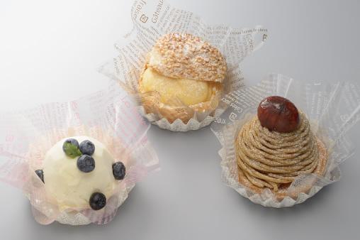 各種ケーキの装飾